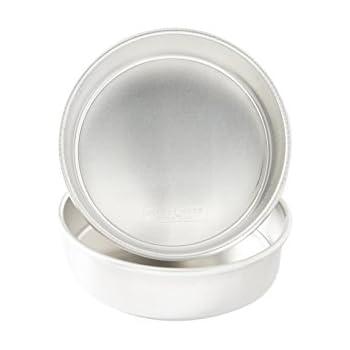 "Nordic Ware 9"" Round Natural Aluminum Cake Pans (2 Pack)"