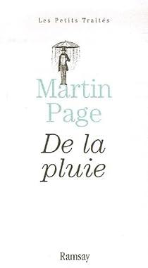 De la pluie par Page