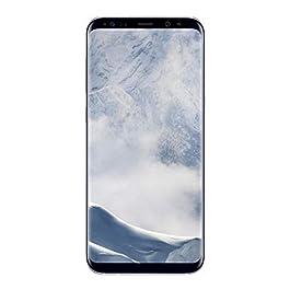 Samsung Galaxy S8+ G955U 64GB Unlocked GSM U.S. Version Smartphone w/ 12MP Camera – Arctic Silver (Renewed)