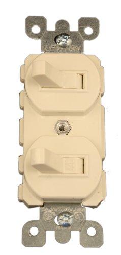 Leviton 5241T 15 Amp 120277 Volt Duplex Style SinglePole3Way