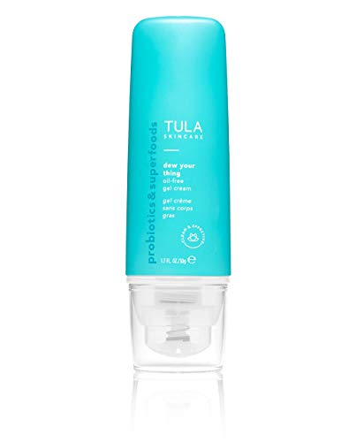 TULA Skin Care Dew Your Thing Oil-Free Gel Cream | Weightless Moisturizer for Face, Lightweight Water-Based Face Cream for Dewy Hydration | 1.7 oz.