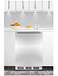 Summit CT66JBISSHHADA Refrigerator, Stainless Steel