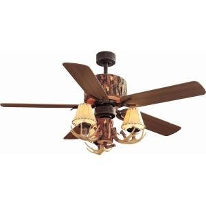 rustic lodge ceiling fans - 6