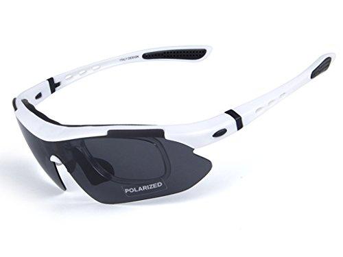 Ciclismo 5 Gafas polarizadas Sol Bicicleta Lentes Montaña Hombre para Ciclismo Protección y D Bicicleta Gafas de Gafas para A Aili WaFRnZ