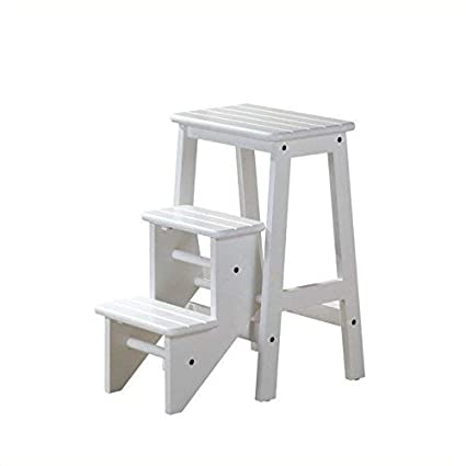 Amazoncom Boraam 36324 Step Stool 24 Inch White Kitchen Dining