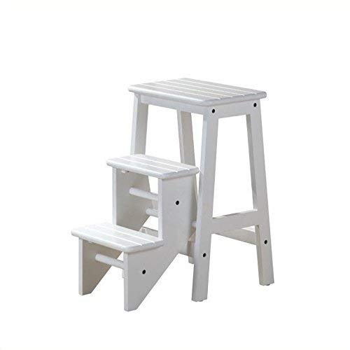Boraam 36324 Step Stool, 24-Inch, White