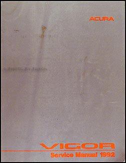 1992 acura vigor repair shop manual original acura amazon com books rh amazon com 1994 Acura Vigor 1994 Acura Vigor