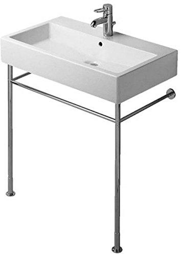 Duravit Vero Console - Duravit 0030661000 Metal console Vero chrome for washbasin 045480, Medium,