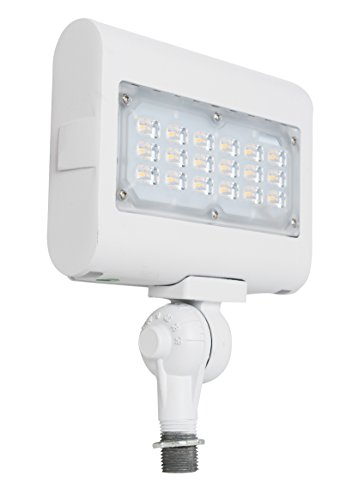 Westgate Lighting LED Flood Light with Knuckle Mount - Best Security Landscape Lights Fixture for Outdoor Yard Garden - Safety Floodlights - UL Listed 7 Year Warranty (30W 5000K Cool White)