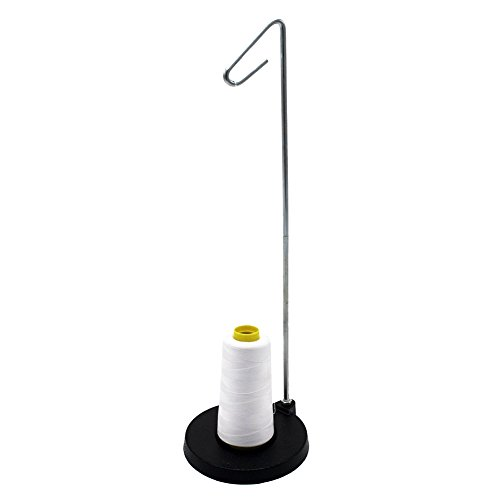 Price comparison product image SODIAL(R) Single Cone or Spool Stand Alone Cast Metal Thread Stand Thread Holder Fits All Sizes for Sewing Embroidery Serger