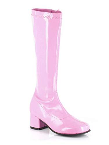 Children's Pink Patent Go Go Boots -