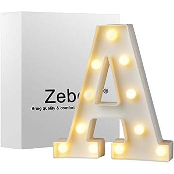 zebery led light up letters warm white led letter light up alphabet letter lights for bachelorette