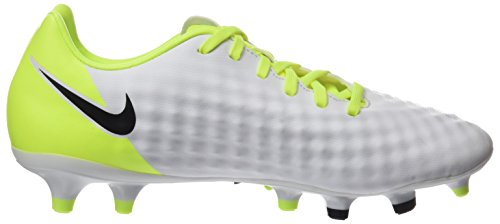 Nike Herren Magista Onda II FG Fußballschuhe Weiß (White/Black-Volt-Pure Platinum)