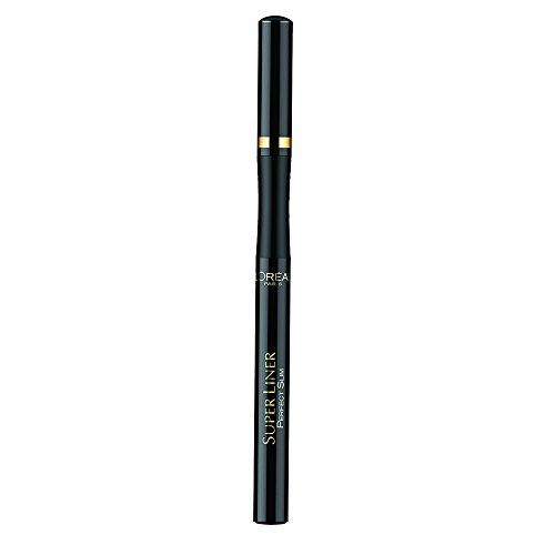 L'Oréal Paris Super Liner Perfect Slim, Intense Black - ultra-präziser Eyeliner mit spezieller Filzspitze und einer intensiven, langanhaltenden Farbe, 1er Pack (1 x 2 ml)