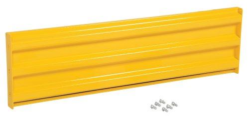 Vestil YGR-B-5 Bolt-On Style Guard Rail44; Yellow - 5 ft. by Vestil