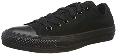 Converse Men's Chuck Taylor All Star Sneaker M9166 Black 8.5 M US