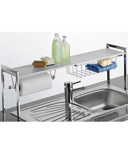 Premium Quality Stainless Steel Over Sink Kitchen Tidy Shelf