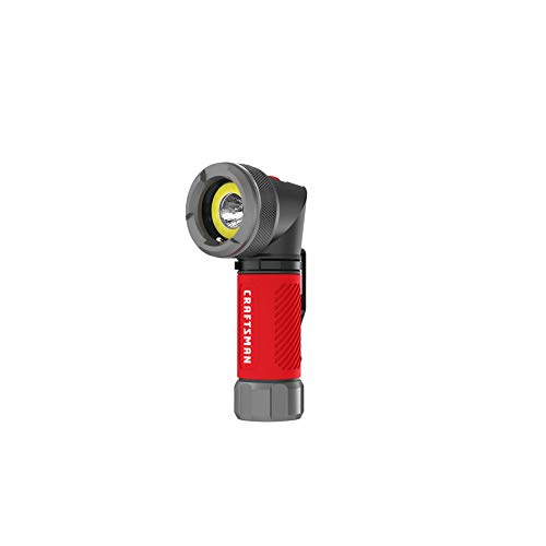 Craftsman 250 lumen LED flashlight with pivoting head and magnetic base