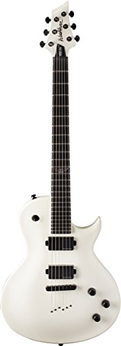 Washburn PXL100AWHM Parallaxe PXL Series Solid-Body Electric Guitar, White Matte Finish (Washburn White Guitar)