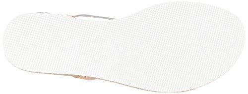 ESPRIT 047EK1W035, Sandalias Planas Mujer Beige (685 Nude)