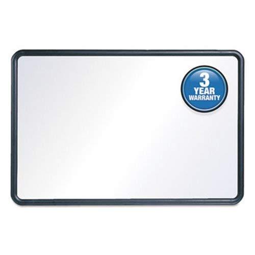 Quartet 7554 Contour Dry-Erase Board, Melamine, 48 x 36, White, Gray Frame ()