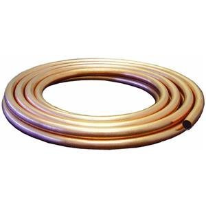 (MUELLER INDUSTRIES GIDDS-203326 Copper Tubing Boxed, 1/2 in. Od X 25 Ft. -203326)