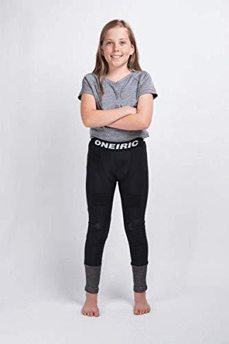 Hockey Knee Goalie Junior Pads (Oneiric Hockey Goalie Protective Jill Base Layer for Youth Girls (S))