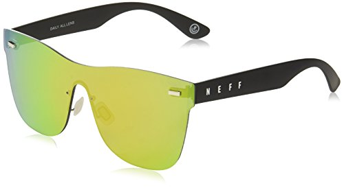 Neff Daily All Lens Shades Men's Sunglasses with Cloth Pouch - 100% UV Protection Sunglasses for Men - Sunglasses for Cycling, Running and - Vector Sunglasses
