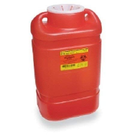 305491 PT# 305491- Container Sharps XL Red 5gal Ea by, Becton-Dickinson by The Becton-Dickinson Incorporated