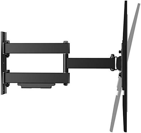 Soporte TV Pared Inclinable de Color Negro para Televisiones de 23-42 hasta 50 Kilos Iggual SPTV12