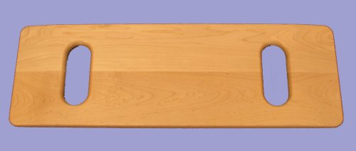 SafetySure Slotted Maple Transfer Board - 8 Inches x 24 Inches by MTS Medical Supply