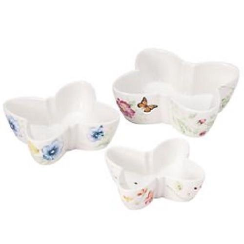 Lenox Butterfly Meadow Nesting Bowls (Set of 3), -