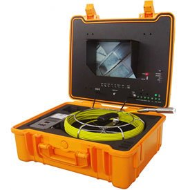 Forbest Luxury Color Sewer/Drain Camera 130' Cable W/ Sonde Transmitter,Footage Counter FB-PIC4188H