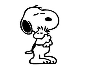 snoopy-and-woodstock-vinyl-decal-sticker-cars-trucks-vans-walls-laptops-cups-black-55-in-kcd835