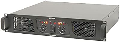 AMP27 - PLX2800, 2 x 1050W @ 4 OHMS PLX-SERIES POWER AMPLIFIERS 19'' RACKMOUNT 2U DUAL FAN COOLING CLASS H 6.3MM JACK XLR SOCKET BRIDGE MODE CLIP LIMITER by CITRONIC