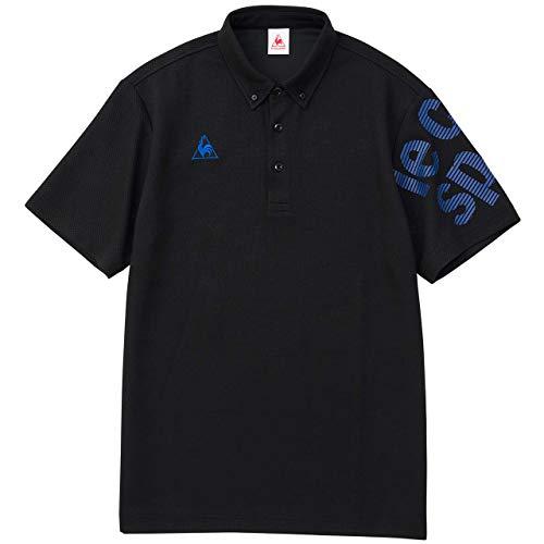 (르꼬끄sportif)le coq sportif 버튼 다운 반소매 폴로 셔츠 QMMNJA45