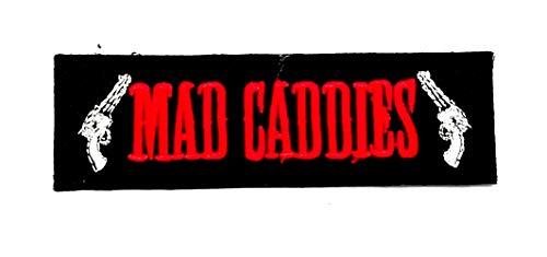 Aruno maison Mad Caddies 1 Rock Band Punk DIY Iron Sew On Embroidered Patch for Denim Jacket Vest Cap