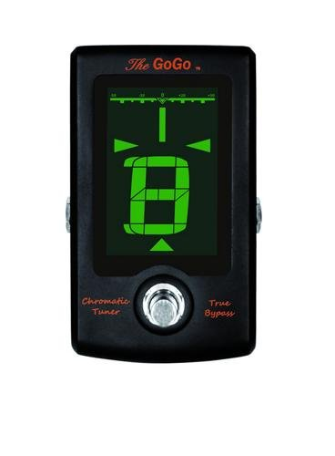GOGO Tuners The GoGo Pedal Tuner, Black (Tuners Go Go)