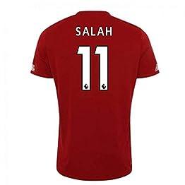 UKSoccershop 2019-2020 Liverpool Pre Game Jersey (Red) (Mo Salah 11)