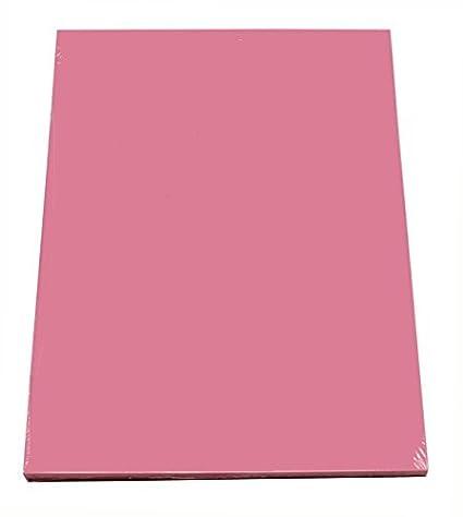 Farbe pastell rosa 100 Blatt farbiges Druckerpapier buntes Kopierpapier