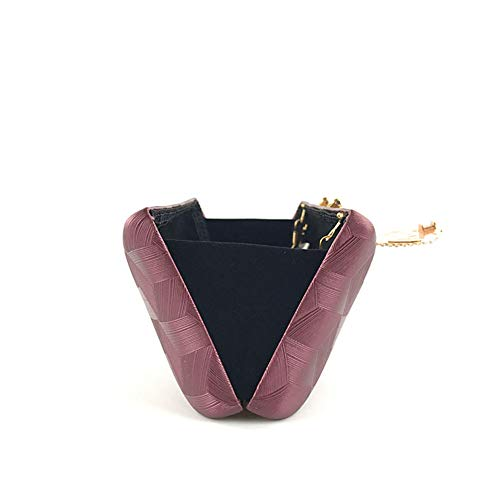 Da Tessuto Pranzo Con Party Pranzo Tote Pranzo LHJ Da Motivo Dating Strass Pu Set Donna Pattern In Da Purple Pochette Bag Pochette Onesize Dinner Da Con Quadrato wxzPt