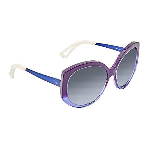 Christian Dior Extase 1/S Sunglasses Violet Blue / Blue Sky Mirror