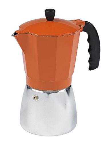 IMUSA, B120-43O, Aluminum Coffeemaker, 6-Cup, Orange