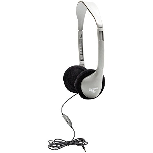 Personal Stereo/Mono Headphones with In Line Volume Control; no. HECHA2V by Hamilton