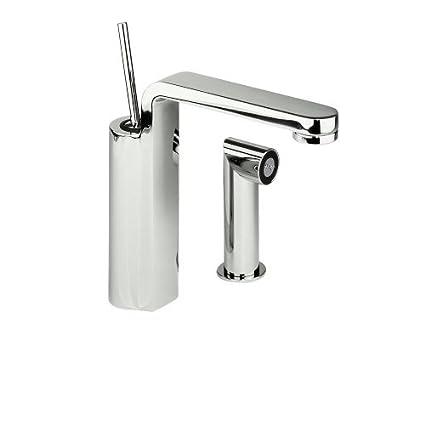 Jado 831/860/150 Glance Single Lever Kitchen Faucet With Side Spray,  Platinum