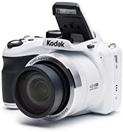 "KODAK PIXPRO Astro Zoom AZ421-WH 16MP Digital Camera with 42X Optical Zoom and three"" LCD Screen (White)"