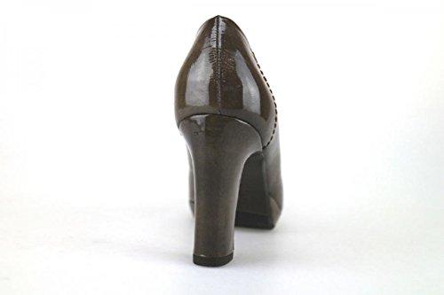 CALPIERRE 40 EU Zapatos de Salón Mujer Marrón Charol AJ404 9bGu75zng