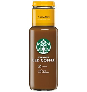 Starbucks Iced Coffee 11oz Glass Bottle Caramel Pack Of 12