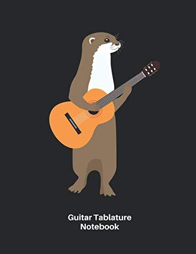 Nice Day Sheet Music - Guitar Tab Notebook: Otter with Guitar Sheet Music Blank Notebook - Great Accessories & Gift Idea for Guitarists, Guitar Teacher & Students.