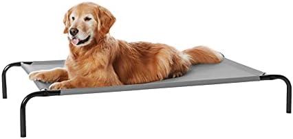 Amazon Basics Cooling Elevated Pet Bed